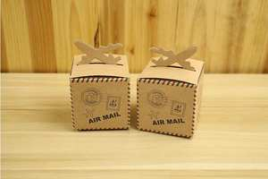 8f0bcab61f2c BLINGIRD Kraft Paper Candy Boxes Wedding Favors Gift Bag