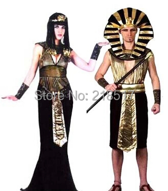 New Masquerade party COS Halloween Costume Cleopatra Egyptian Queen Costume Dress Egyptian Pharaoh of Egypt D  sc 1 st  AliExpress.com & New Masquerade party COS Halloween Costume Cleopatra Egyptian Queen ...