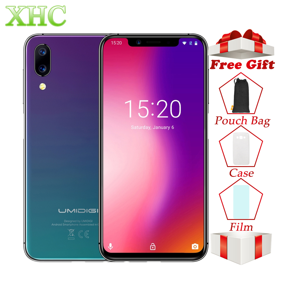 UMIDIGI One Pro 4GB 64GB Smartphones Dual Back Cameras Face ID 5 9 inch Android 8