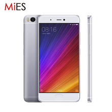 "Original Xiaomi Mi5s Mi 5S Mobile Phone 3GB RAM 64GB ROM Snapdragon 821 Quad Core 5.15"" 1080P Fingerprint ID Fast Charge"