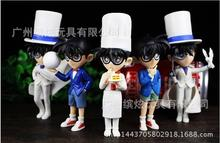 5pcs Hot Detective Conan 13 cm PVC action figure toys for children birthday gift free shipping to my world wonders