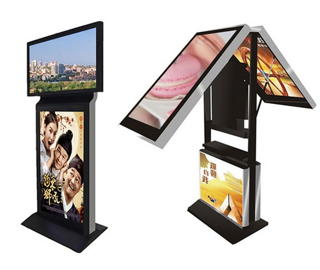 42 47 55 65inch Lg 3g 4g Rf Touch Screen Dual Led Lcd TFT Double Sided HDMI 1080p Cctv Monitor Display Pc Tv Digital Signage