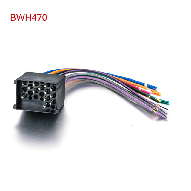 Online Shop Audio Stereo ISO Standard Wiring Harness for BMW 3 5 7 on wire harness repair, wire harness assembly, wire harness tubing, wire harness fasteners, wire harness testing, wire harness connectors,