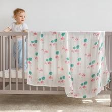 سوبر لينة بطانية للأطفال القطن الخيزران الشاش قماط لحديثي الولادة طفل التفاف تنفس غطاء مقعد السيارة بارد التمريض