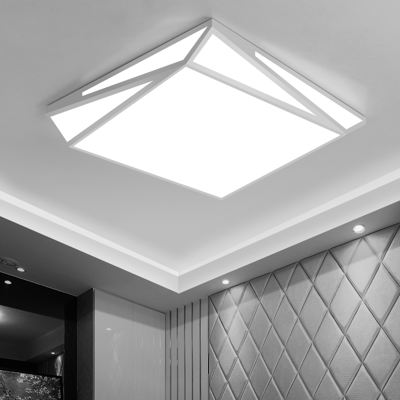 купить Geometry Creative LED Ceiling Lamp Surface Mounted Modern Led Ceiling Lights For Living Room Light Fixture Indoor Lighting по цене 5684.59 рублей