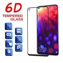 زجاج مقوى 6D لهاتف Huawei Honor 20 20i واقي شاشة أمان غطاء كامل 9H زجاج واقي لهاتف Honor View 20 v20 Honor 20 i