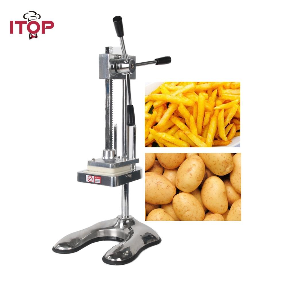 ITOP Aluminum Alloy Vertical Potato Cutter Manual Carrot Shredding Machine MH003 itop aluminum alloy vertical potato