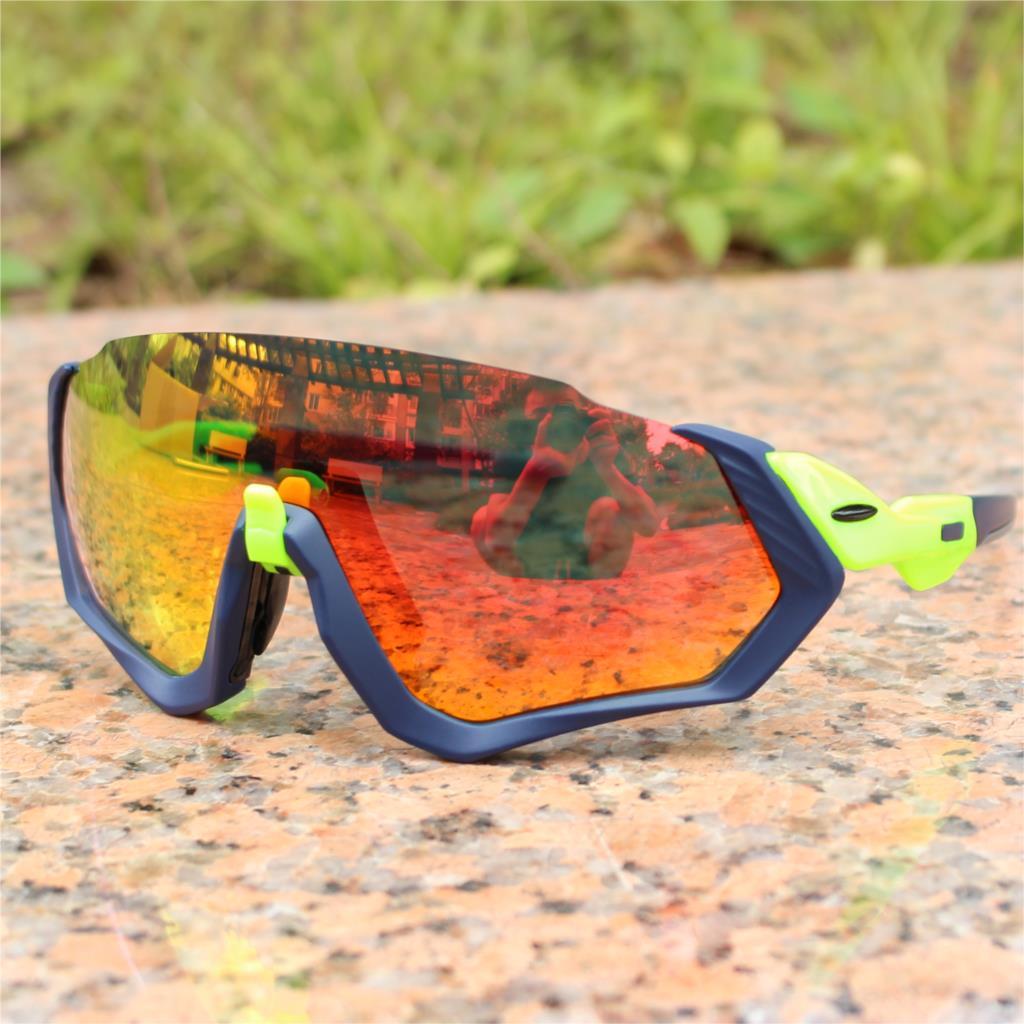 e9c0461a618 100 speedcraft Base Outdoor Sports Bicycle Sunglasses bicicleta Gafas  ciclismo Cycling Glasses Eyewear 2 lens UV400