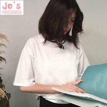 Women T-Shirts Summer 2019 Fashion Woman Cotton Tops Tees Casual Short Sleeve O-Neck tshirt Solid Color T Shirts