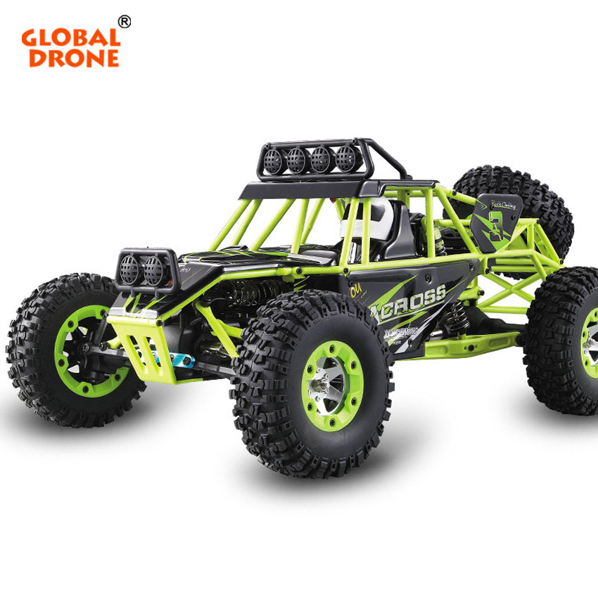 Global Drone 12428 RC SUV Car High Speed 4WD Waterproof Damping 1:12 Electric Four-Wheel Drive Climbing Off-road Car RC TOY wltoys 12428 12423 1 12 rc car spare parts 12428 0091 12428 0133 front rear diff gear differential gear complete