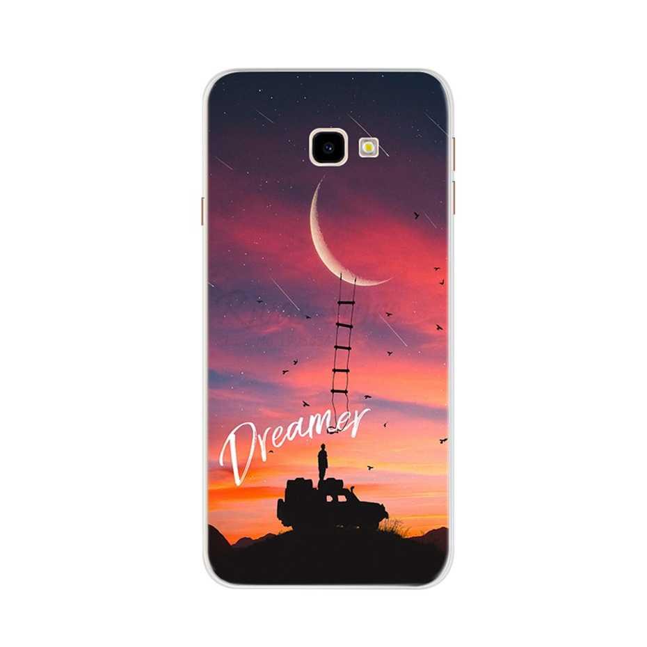 Per Samsung Galaxy J4 Più Il Caso Molle di TPU Del Silicone Cassa Del Telefono Per Samsung Galaxy J4 Più 2018 J415F SM-J415F J4Plus J 4 Caso Capa
