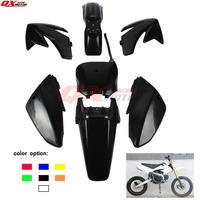 7 colors fender plastic kits For CRF 70 CRF70 Dirt Pit Bike free shipping