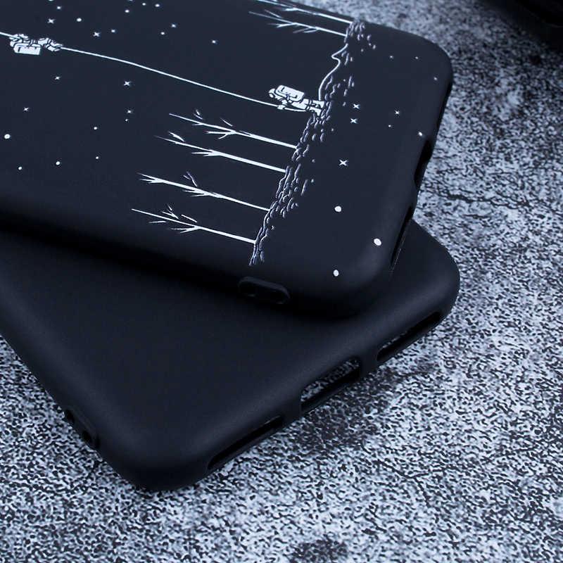 Matte tpu caso para xiaomi redmi 4x 5a nota 5 4x a2 lite s2 mix 3 silicone macio capa traseira casos de telefone celular para redmi nota 6 pro