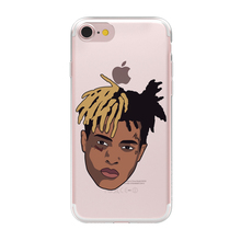 HryCase Matte Hard Plastic Xxxtentacion Case Cover For Apple iPhone 8 7 X 6 Plus 5 5S SE XS Max XR Transparent Phone Cases