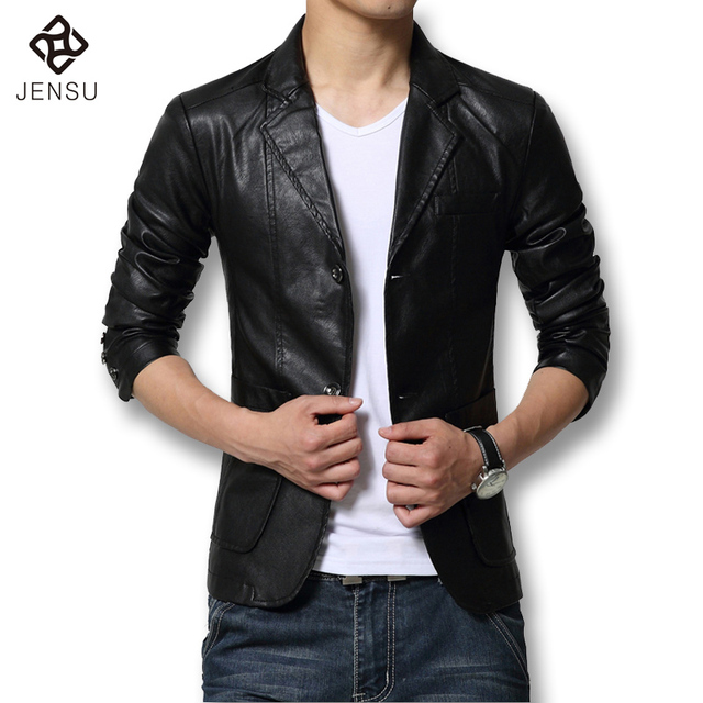 2016 New Arrival Leather Jackets Men's Jacket Male Outwear Men's Coats Autumn Winter PU Jacket De Couro Coat Plus Size M-7XL