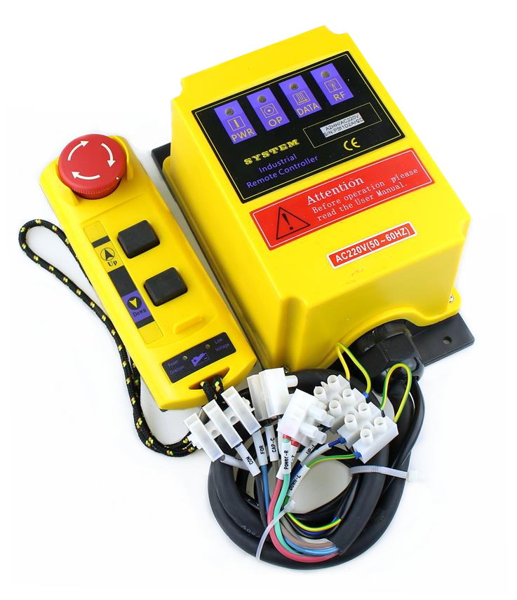 A2HH electric hoist with emergency stop for built-in contactor of the direct-controlled industrial remote controller fA2HH electric hoist with emergency stop for built-in contactor of the direct-controlled industrial remote controller f