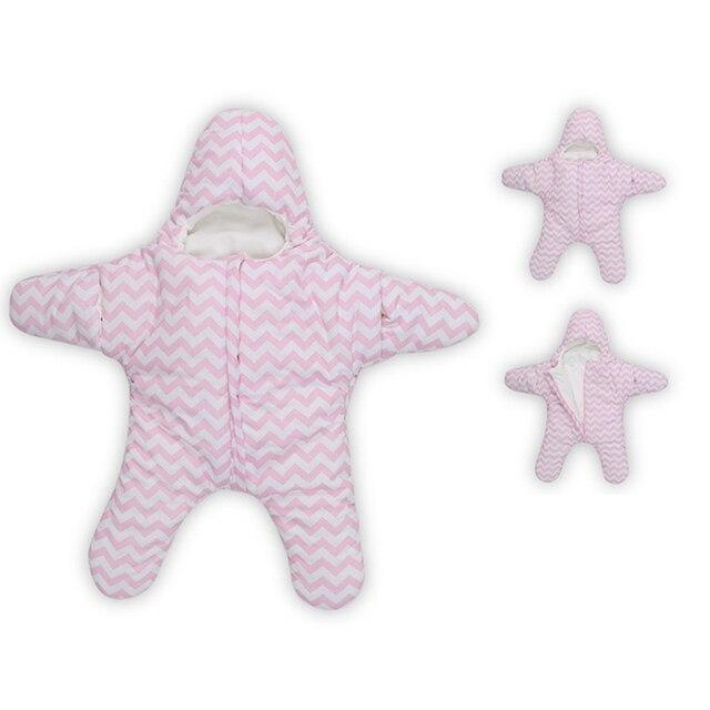 2016 New Arrival Star Baby Sleeping Bags Winter Baby Sleep Sack Warm Baby Blanket Swaddle