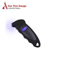 Acartool черные Цифровые Автомобильные шины покрышки датчик давления воздуха метр ЖК-дисплей манометр барометры тестер автомобиль грузовой автомобиль, мотоцикл, велосипед
