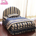 Washable 3 pieces small dog bed house set pet cat luxury Princess sofa Bed kennel for chihuahua  (Pet bed + pillow + blanket)