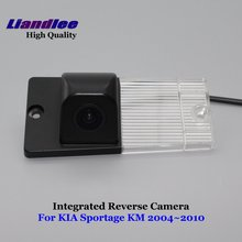 Liandlee For KIA Sportage KM 2004~2010 Car Reverse Parking Camera Backup Rear View Camera / SONY HD CCD Integrated Nigh Vision wire wireless hd night vision for sony ccd kia sportage car rear view camera backup parking assistance rearview aid reversing