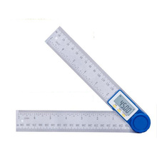 0-200mm 8inch Digital Protractor Inclinometer Goniometer Level Measuring Tool Electronic Angle Gauge Stainless Steel Ruler