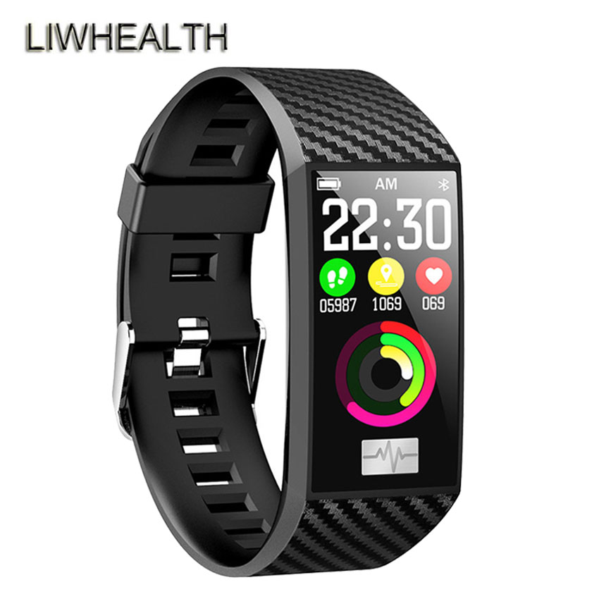 ECG/PPG Smart Watch Band Standby IP68 Heart Rate Monitor Fitness Tracker Smartband For Iphone/Xiaomi/Honor VS Mi Band 3/4 Not