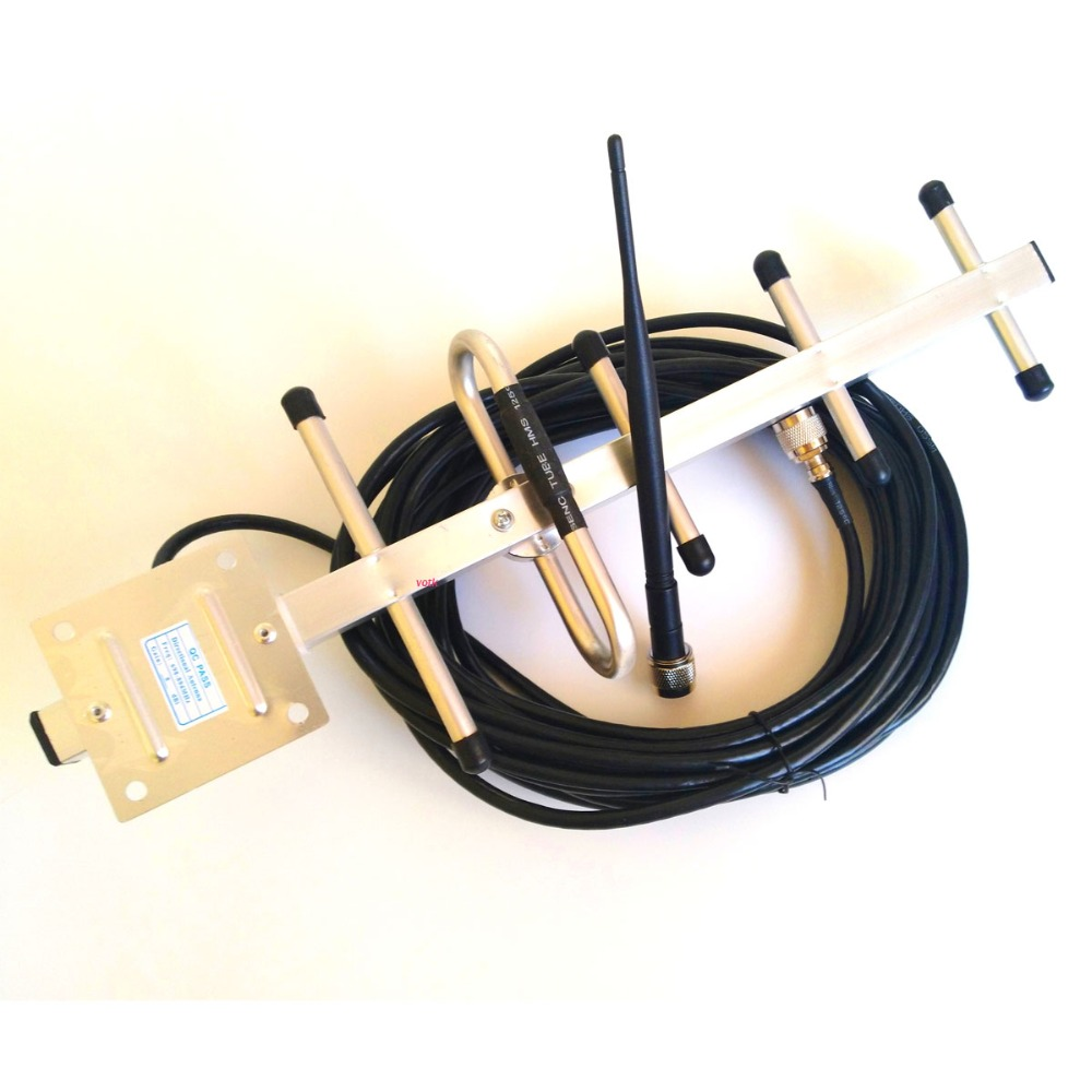 5 einheit 8db 806-960 mhz yagi-antenne mit 10 mt kabel INDOOR antenne N stecker für GSM CDMA repeater booster