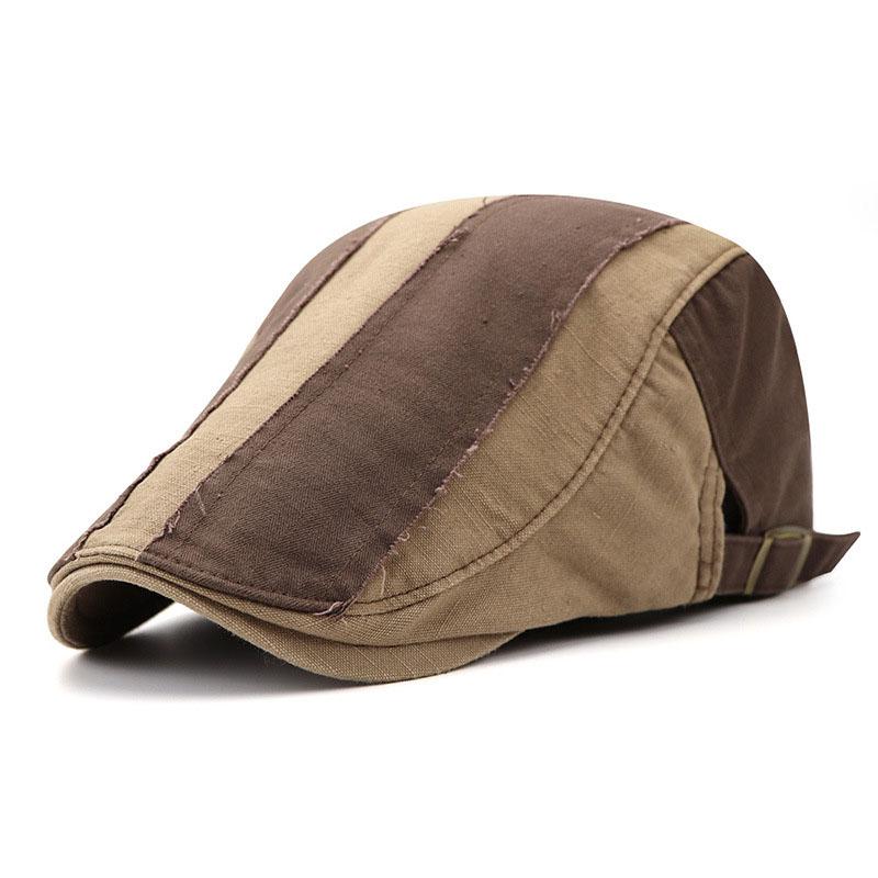 Beret-Hats Peaked-Cap Newsboy Gatsby Cabbie Adjustable Summer Casual Unisex Gorras Casquette
