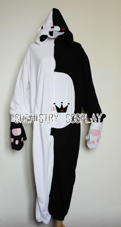 Danganronpa monokuma bear Pajamas Personification Cosplay ...