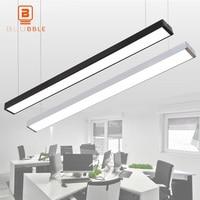 LED Licht Moderne Linear Anhänger Lampe Hängen Bar Droplight Für Konferenz Raum Studie Wohnkultur-in Pendelleuchten aus Licht & Beleuchtung bei