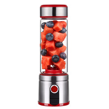 Juicer Blender Portable Electric Juicer Mini Home Automatic USB Charging Small Student  Juice Bottle Juice Machine 500ml juicer automatic electric home fruit juicer juice extractor two speed adjustable juicer machine