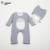 Traje de bebé Totoro Mameluco Alta densidad flocado cashmere ropa de escalada mameluco del bebé barato ropa de bebé de algodón orgánico