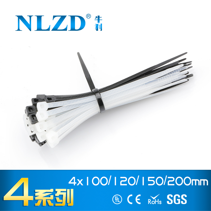 Self-Locking Line Finishing Releasable Bundled Zip Nylon Wire Cable Ties