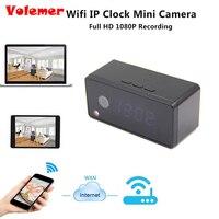 Volemer Tafel Klok Camera Alarm Instelling 720 P HD H.264 Mini Camera IR Nachtzicht Wifi IP Klok Camera Mini DV DVR Camcorder