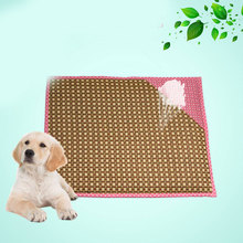 Summer Cooling breathable pet dog bed cooling sleeping mat beds Double sides double use blanket Puppy pets supplies