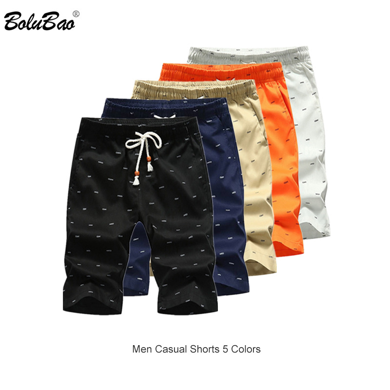 BOLUBAO Brand Men Shorts Summer Male Casual Shorts Bottom Mens Elastic Fashion Short Men Breathable Printing Shorts