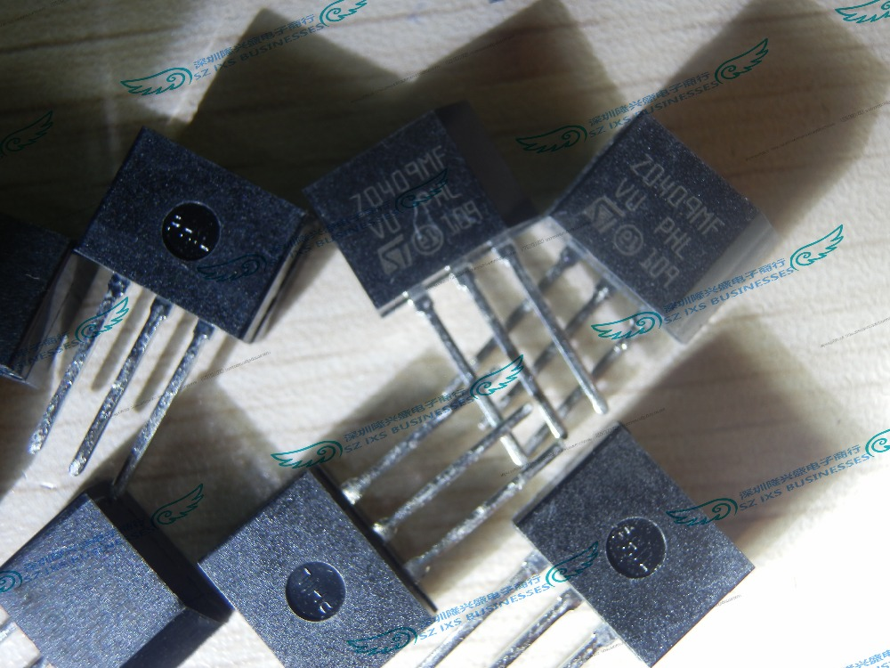 50PCS/LOT <font><b>Z0409MF</b></font> 1AA2 ZO409MF TRIAC SENS GATE 600V 4A TO202 image