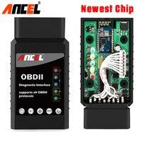 ELM 327 V1 5 OBD2 Bluetooth Adapter Car Diagnostic Scanner Universal Ancel BD100 Automotive Scanner OBD