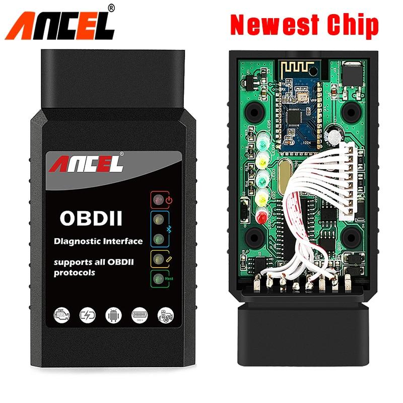 OBD2 Bluetooth Adapter ANCEL ELM 327 V1 5 Car Diagnostic OBD2 Scanner Work with Android OBD