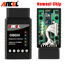 OBD2 Bluetooth Adapter ANCEL ELM 327 V1.5 Car Diagnostic OBD2 Scanner Work with Android OBD 2 ELM327 Bluetooth OBD Scanner