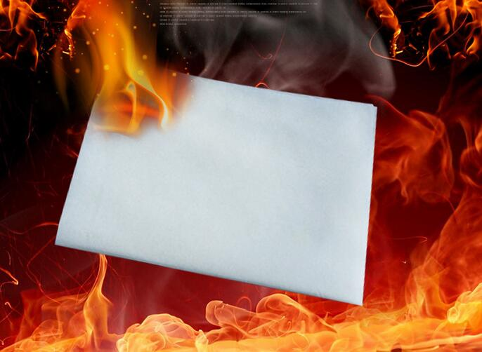 5 pcs Touch paper for magic tricks/Not the least trace was found/Smoke free paper Stage magic props magic-014