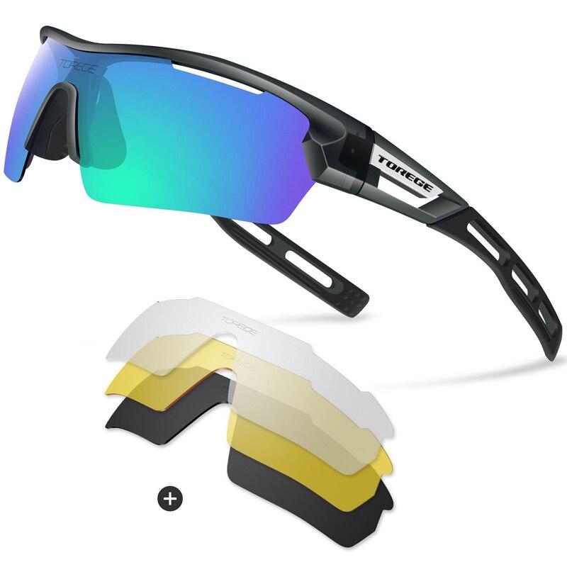 1e2318469d 2019 Torege Brand 2018 New Polarized Outdoor Sports Sunglasses For ...