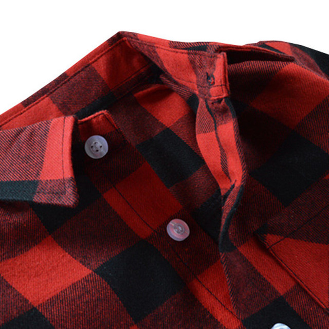 Boys' Cotton Flannel Shirt
