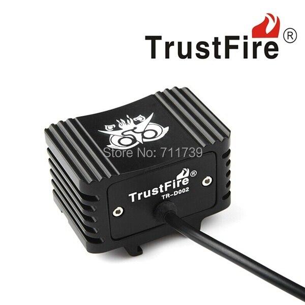 ФОТО TrustFire TR-D002 2 X CREE XM-L2 2000LM LED bicycle Light