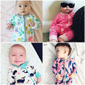 Marca de ropa Infantil Del Mameluco Del Bebé Recién Nacido Mono Niños Ropa Niñas Ropa de Bebé Recién Nacido Ropa Kikikids Maka Niños Estilo
