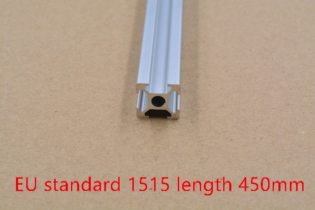 1515 aluminum extrusion profile european standard white length 450mm industrial   workbench 1pcs