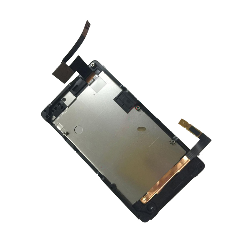 White For Sony Xperia Go ST27 ST27i ST27A Touch Screen Digitizer Glass + LCD Display Panel Monitor Assembly with Frame