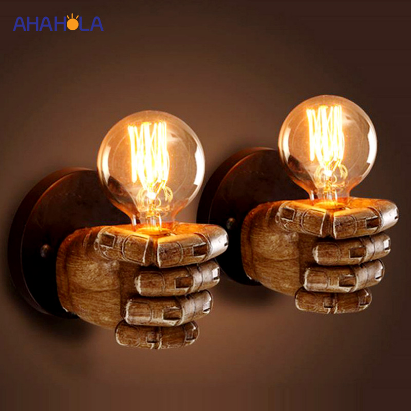 Vintage E27 Wall Lamp Creative Loft Edison Sconce Wall Light for Cafe Restaurant Bar Bedroom Study Foyer Dining Room Bar Coffee lamp folding wall flex led edison industrial retro loft light vintage dining room bar edison vintage bedroom dining room
