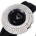 Relógio Relógios Das Mulheres de Diamante de Luxo Vestido de Strass Relógios de Pulso para As Mulheres Senhoras Pulseira de Silicone Relogio feminino Montre Femme