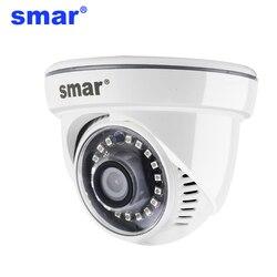 Cámara Smar AHD 1080P 720P cámara de seguridad interior para el hogar con 18 piezas Nano IR Led día de visión nocturna Y la noche de vigilancia